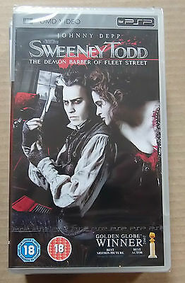 Sweeney Todd (New & Sealed)(Sony PSP UMD Video)  Free  Postage