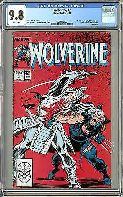 Wolverine #2 (1988) CGC 9.8 White Pages 0285110023