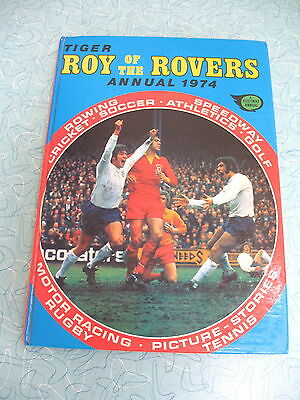 Tiger   Roy Of The Rovers  Annual  1974