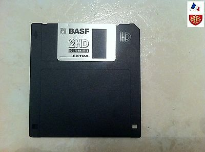 "1 disquette Boot WINNDOWS 98 SE BASF EMTEC 2HD DOS FORMATTED 1.44MB 3.5"" / 90mm"