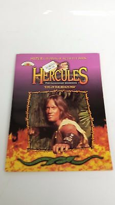 "AWESOME Rare Hercules ""Eye of the Beholder "" Super Coloring & Activity Book 1997"