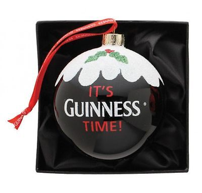 Guinness Pint Christmas Tree Bauble Xmas Hanging Decoration Giftware Brand New