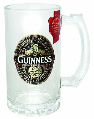 Guinness 2016 Collectors Colour Filled Tankard
