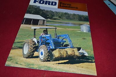 Ford Tractor Farm Loaders Dealer's Brochure YABE8