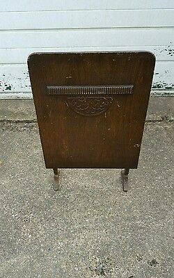Vintage Art Deco Style Wooden Fire Guard/Screen