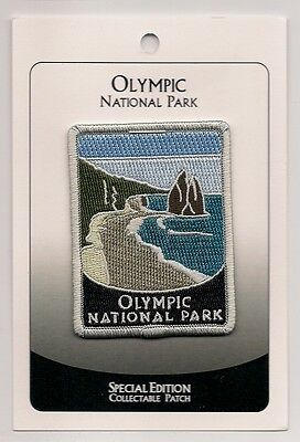Olympic National Park Souvenir Patch -Special Edition Traveler Series