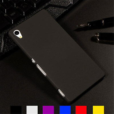 Ultra Thin Slim Premium Hard Back Snap On Shell Case Cover For Sony Xperia