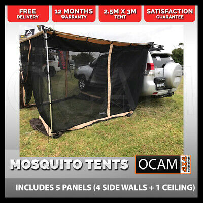 Camping Mosquito Tent for Awning  2.5m x 3m 4X4 Camping