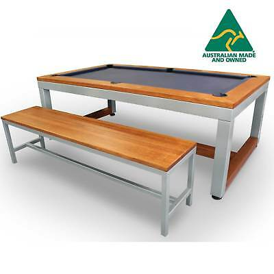 7 Foot Slate Euro Deluxe Pool/Dining Table