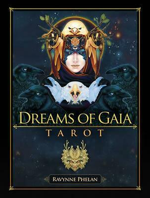 Dreams of Gaia: Tarot Set: A Tarot for a New Era by Ravynne Phelan Book & Mercha