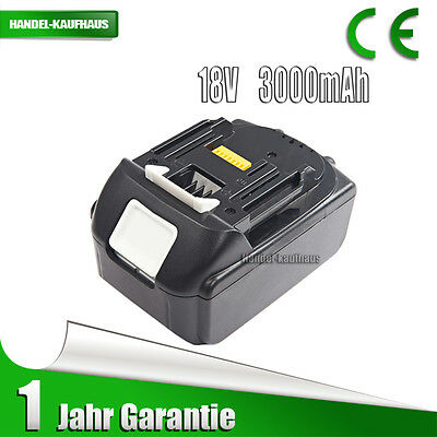 18V 3.0Ah Lithium Li-ion Battery For Makita BL1815 BL1830 BL1835 LXT 18V drill