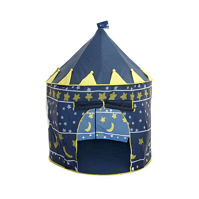Childrens Kids Boys Play Castle Tent Garden Outdoor Indoor Playhouse