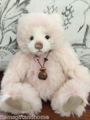 Charlie Bear *NEW* Limited Flossy-100% Alpaca Collectable 18cm