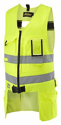 Snickers 4233 High-Vis Tool Vest Hi Vis Tool Vest SnickersDirect All Colours
