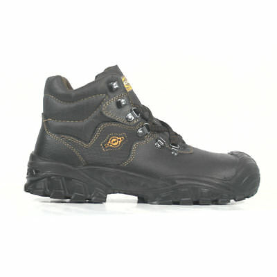 Cofra New Reno Safety Boots With Steel Toe Caps & Midsole Scuff Caps