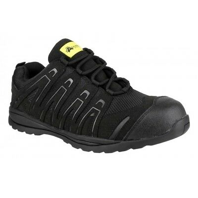 Amblers FS40C Black Safety Trainers Composite Caps & Midsole Metal Free SDirect