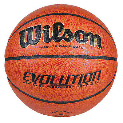 Wilson Evolution Basketball Size 7 NFHS Approved Indoor Game Balls WTB0516 Match