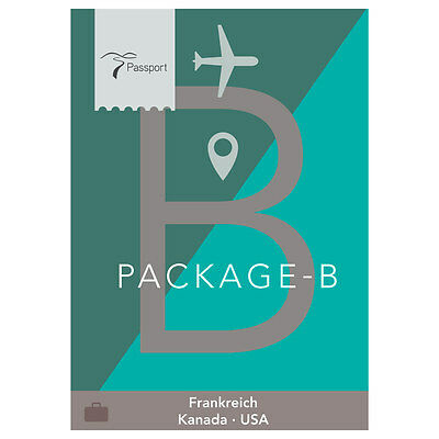 Passport Virtual Active - USB Stick, Pack B (Frankreich, Kanada, USA)
