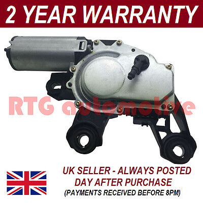 12V Window Windscreen Wiper Motor Rear For Audi A4 Estate Avant 1995-2001