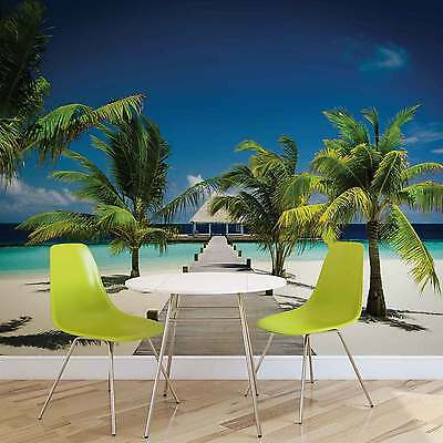 WALL MURAL Beach Tropical XXL PHOTO WALLPAPER (891DC)