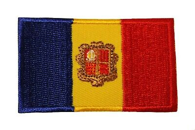 VIETNAM NORTH COUNTRY FLAG IRON-ON PATCH CREST BADGE 1.5 X 2.5 INCH