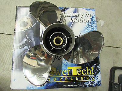 Power Tech propeller 13 1/2 X 12 pitch Stainless Steel Yamaha SWW-3R12P-YM-90