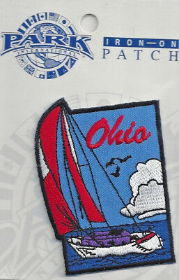 Souvenir Travel Patch - The State Of Ohio - Sailing