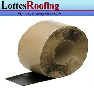 "1 case - 2 - rolls 6"" x100' EPDM Rubber Flashing tape P-S THE LOTTES COMPANIES"