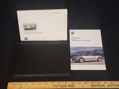 1996 BMW 5 Series Car Owners Instruction Book Glove Box Manual