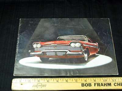 1958 PLYMOUTH Full Line Car Dealer Sales Brochure