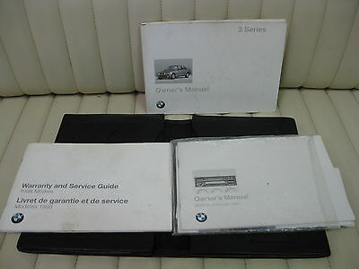 1997 BMW 3 Series Car Owners Instruction Book Glove Box Manual Kit