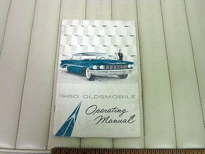 1960 Oldsmobile Car Owners Instruction Manual