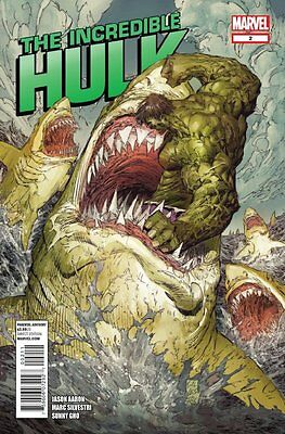 INCREDIBLE HULK ISSUE 2 - FIRST 1st PRINT JASON AARON & MARC SILVESTRI