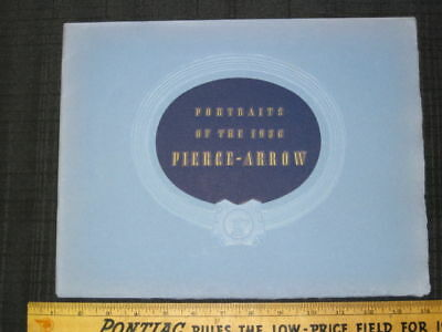 1936 PIERCE-ARROW Prestige Sales Brochure EXC CONDITION