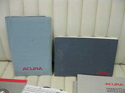 1992 Acura Vigor Car Owners Instruction Book Glove Box Manual