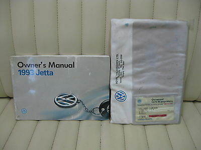 1993 Volkswagen VW Jetta  Car Owners Instruction Book Glove Box Manual