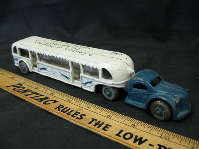 1933 ARCADE Cast Iron GMC Century of Progress Bus Toy