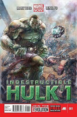 Indestructible Hulk Issue 1 - Mark Waid & Leinil Francis Yu - Marvel Now!