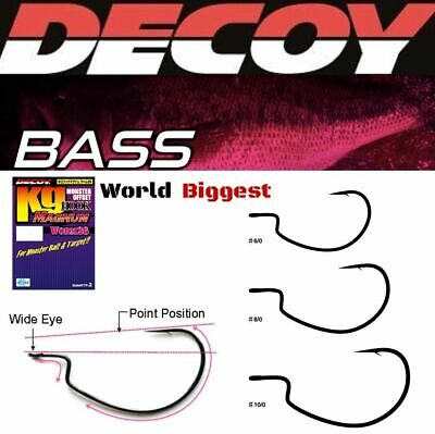 Decoy Monster Offset Hook Kg Worm 26 Magnum