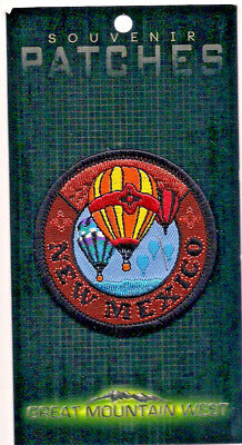 Souvenir Travel Patch - State Of New Mexico - Balloons