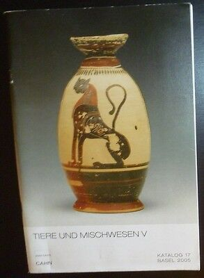 Catalogue Cahn Basel Tiere Und Mischwesen V Katalog 17 2005 Egyptian Greek Roman