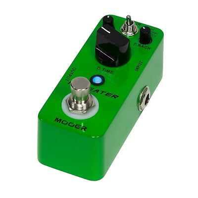 NEW Mooer Repeater Digital Delay Micro Electric Guitar Effects Pedal True Bypass