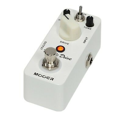 NEW Mooer Hustle Drive Distortion Micro Electric Guitar Effects Pedal