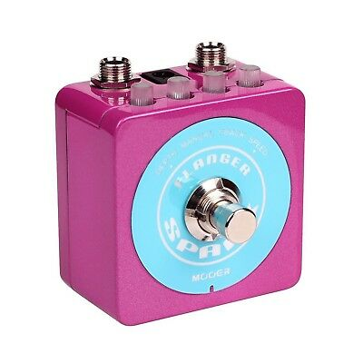 NEW Mooer Spark Flanger Electric Guitar Effects Pedal True Bypass FREE SHIP