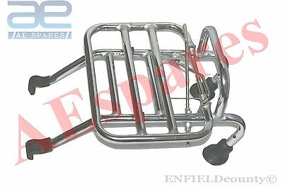 Vespa Front Luggage Rack Carrier Chrome Vbb Sprint Px Lusso Lml Star Stella @uk