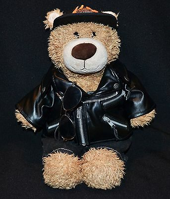 Harley Davidson Build A Bear Plush With Accessories
