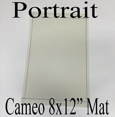 "A4-8x12""Silhouette Cameo Portrait cutting mat economy Carrier sheet"