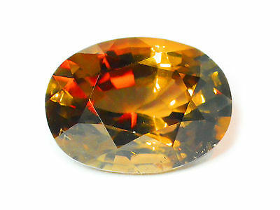 5.97 Cts Certified Loose Natural Oval Cut Brown Yellow Konerupine Gemstone-12911