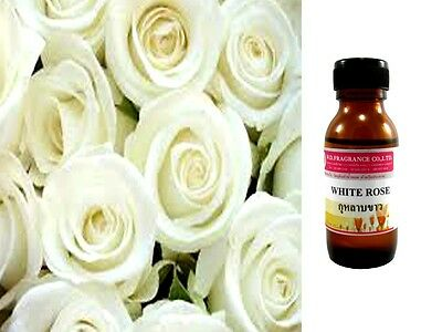 White Rose Perfume Fragrance Essential Oils for Aroma Massage Spa Soap Cosmetic