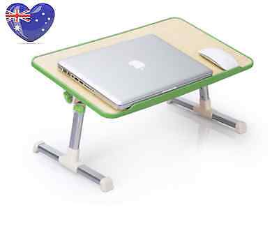 New Foldable Adjustable Portable Laptop Notebook Computer Table With Cooling Fan